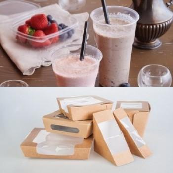 Упаковка пластиковая, бумажная и биоразлагаемая