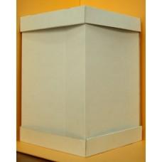 Коробка картонная 350х350х400 +дно+крышка бел Т-22